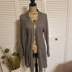 4 for $20 💖cardigan with silver sparkle